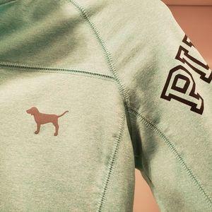 PINK Jackets & Coats - Pink brand quarter-zip jacket